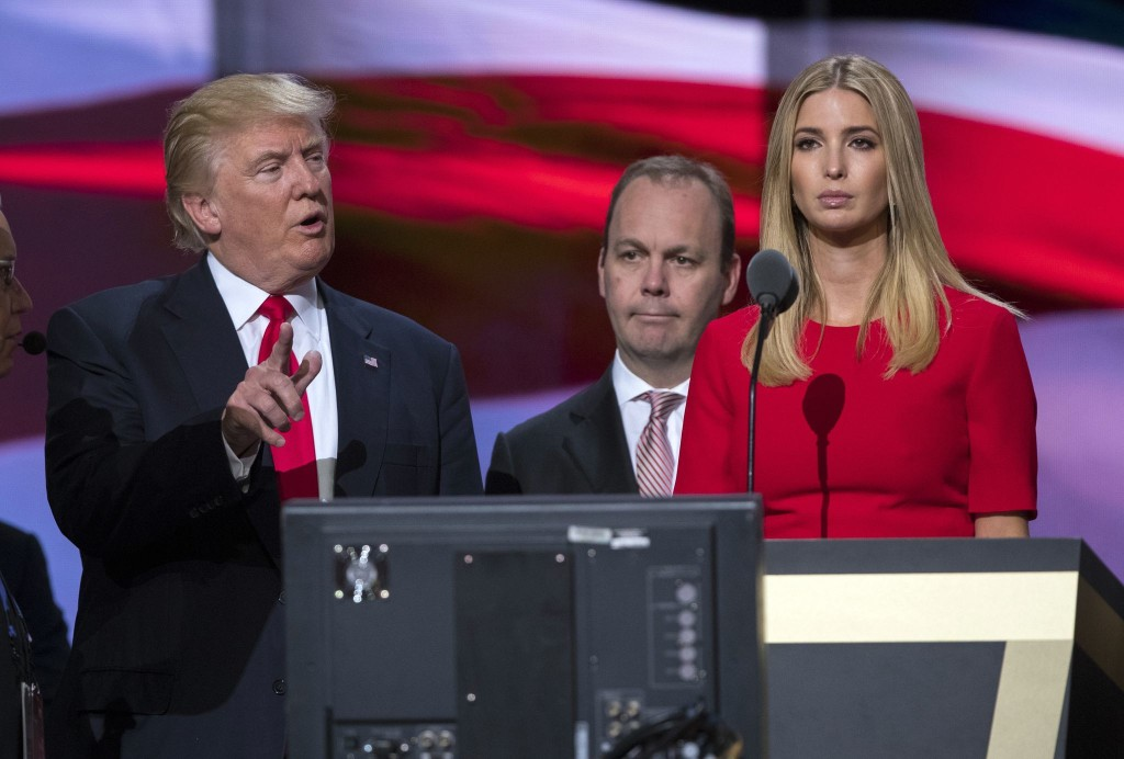 Trump suggested naming his daughter Ivanka as his running mate in 2016, according to new book by Rick Gates