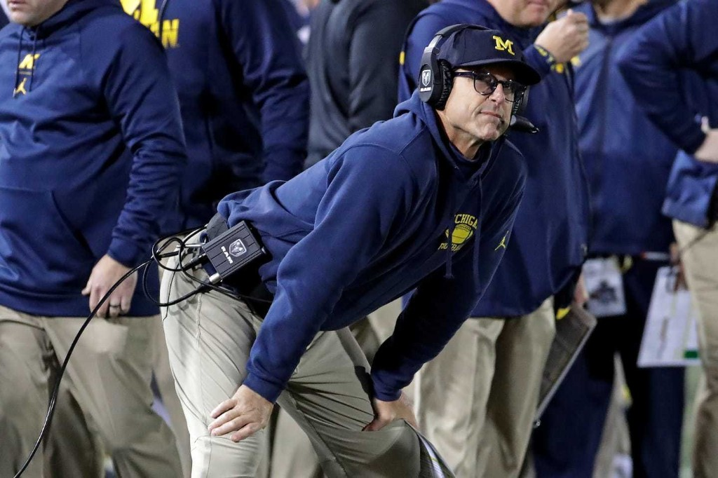 Michigan loses to Penn State, and Jim Harbaugh's signature win will have to come another day