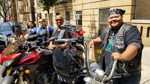Why these bikers crisscross New York delivering donated breast milk