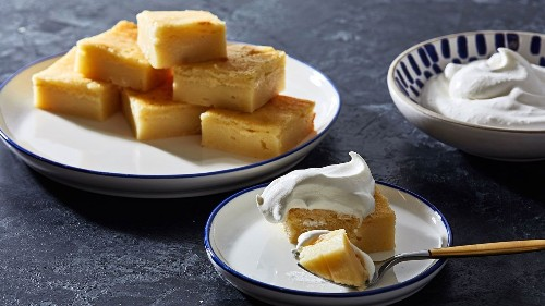 We're sold on these chewy, buttery, soft baked mochi squares