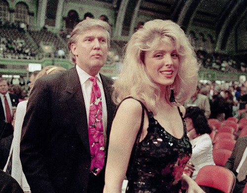 Trump's fashion look: Frozen in the '80s