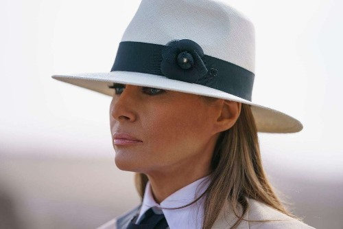 Melania Trump discusses #MeToo, her marriage and that controversial jacket in a rare interview