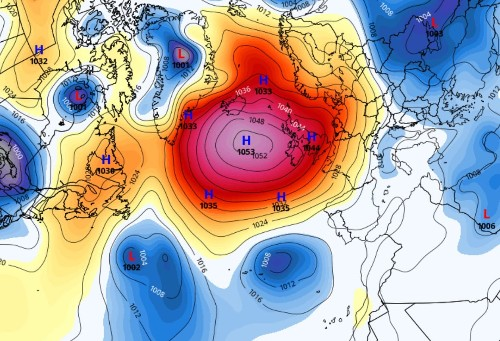 United Kingdom sets monthly record for highest air pressure during March