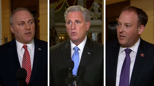 Watch House Republicans criticize Democrats for the impeachment inquiry vote that they demanded