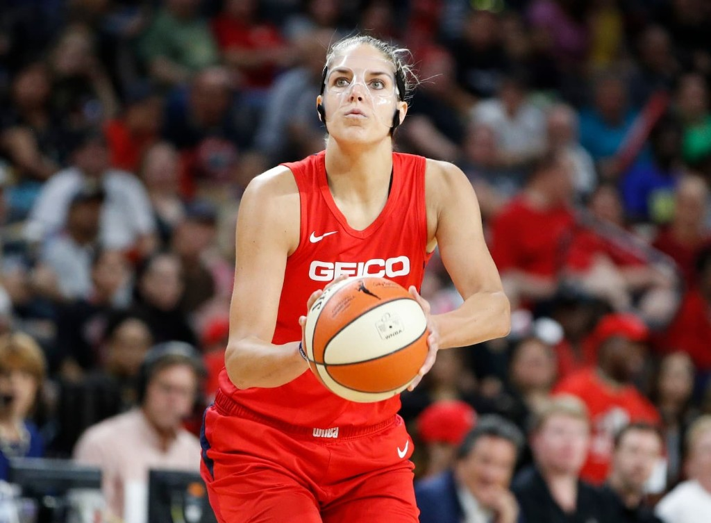 In clash of contrasting superstars, Elena Delle Donne's poise carries Mystics to WNBA Finals