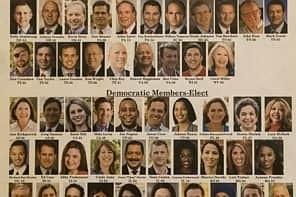 Diversity on stark display as House's incoming freshmen gather in Washington