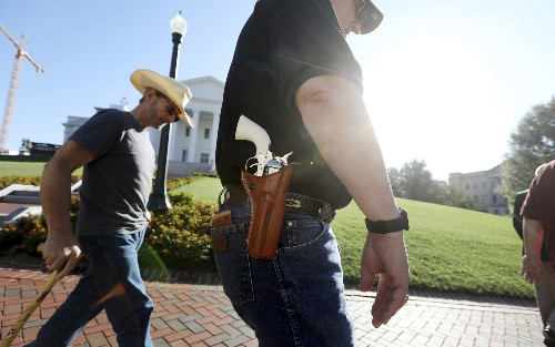 Va. Republicans cancel commission meeting that was to review gun control bills, deferring to next year