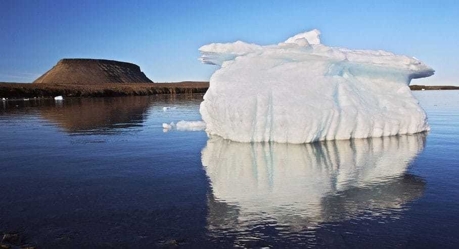 Dominoes fall: Vanishing Arctic ice shifts jet stream, which melts Greenland glaciers