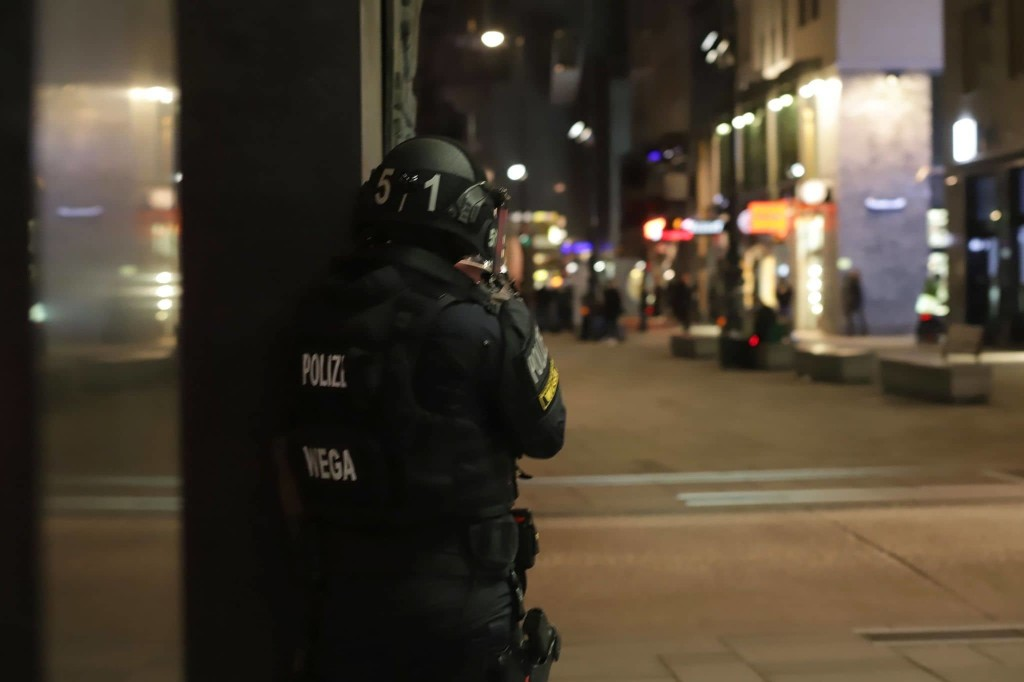 Coordinated Vienna shootings kill three people, injure at least 15, officials say