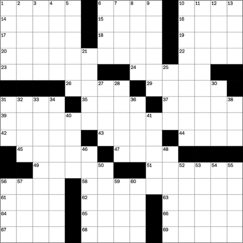 Daily crossword puzzles free from The Washington Post - The Washington Post