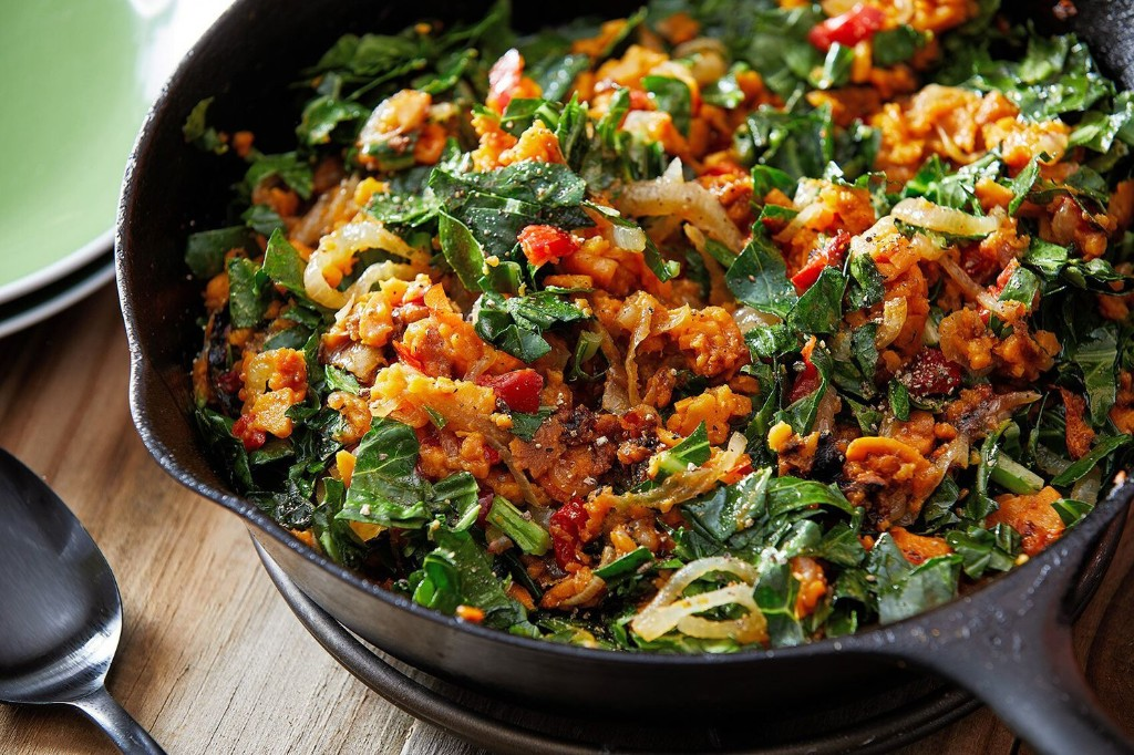 With a handful of ingredients and a smart technique, this sweet potato hash is ready in 20 minutes