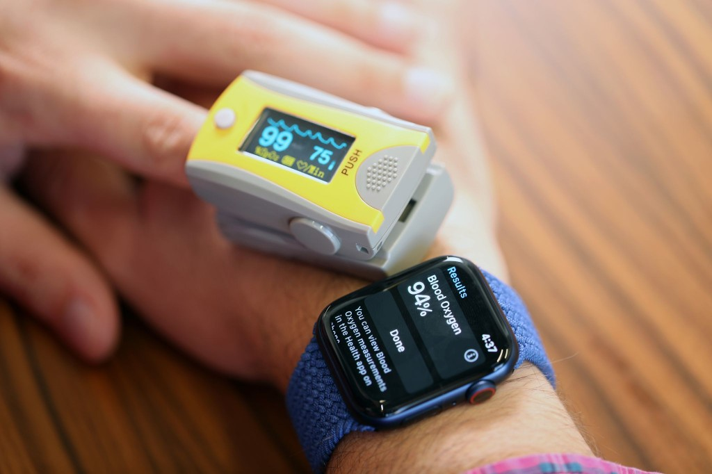 The new Apple Watch says my lungs may be sick. Or perfect. It can't decide.