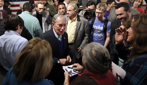 Mike Bloomberg wants to be president, but he also has a fallback plan: Defeat Trump and remake the Democratic Party