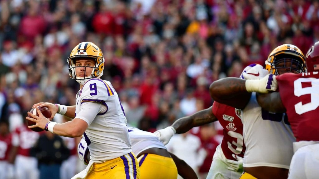Joe Burrow and LSU stave off Alabama in an offensive, streak-busting showcase