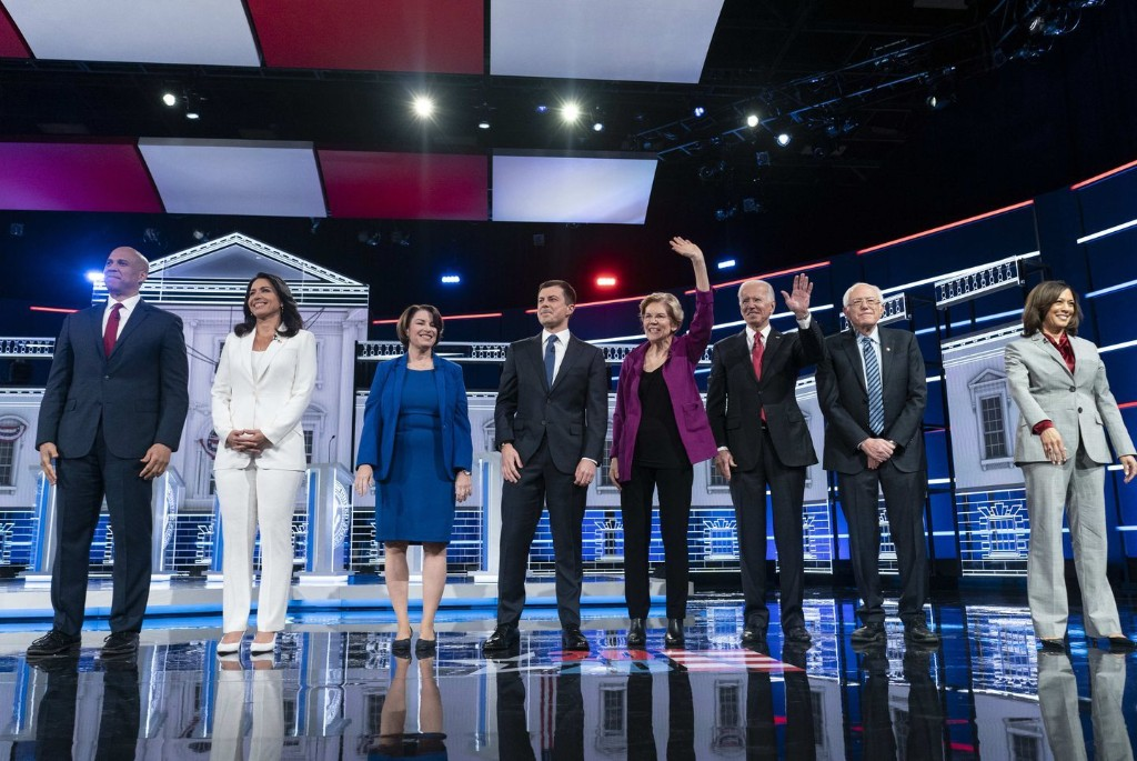 What happened in the Democratic debate: Candidates squabble over black voters, draw contrasts with Trump