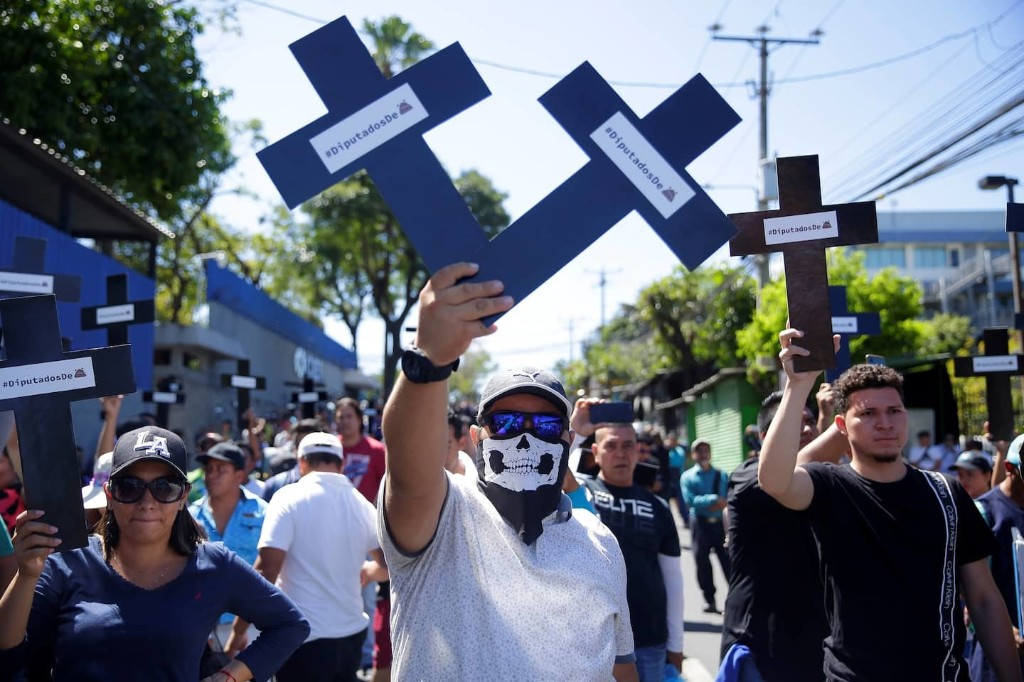 El Salvador's president sent troops to occupy the legislature. Here's what's going on.