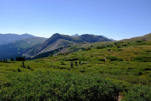 I hiked the Colorado Trail for nearly 500 miles. I was awed by the mountains the whole way.
