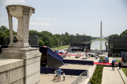 Park Service diverts $2.5 million in fees for Trump's Fourth of July extravaganza