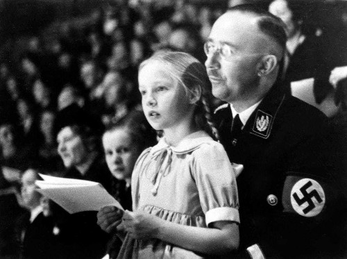 Heinrich Himmler's daughter and the millions of Jewish deaths