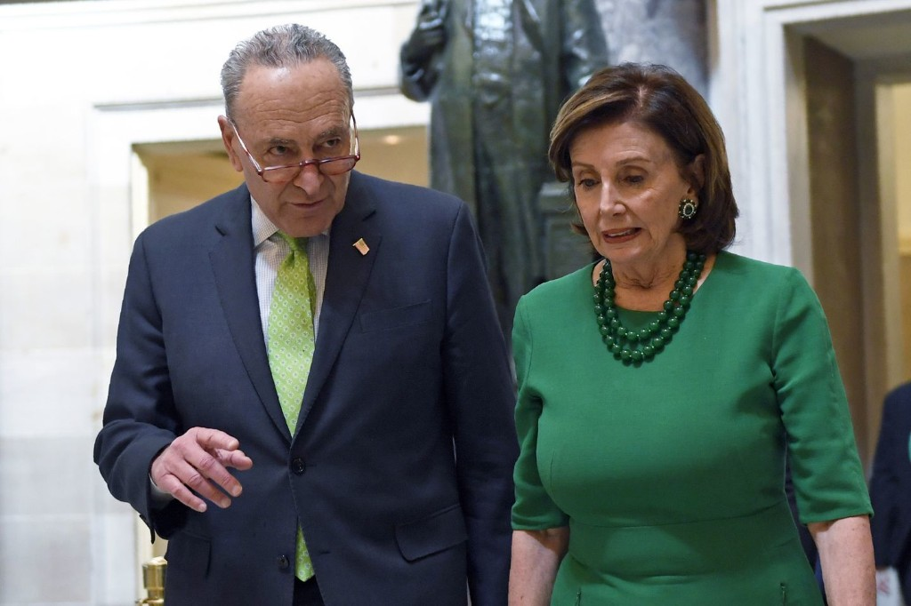 Pelosi and Schumer seek huge spending increases for hospitals, local aid and food stamps as coronavirus talks intensify