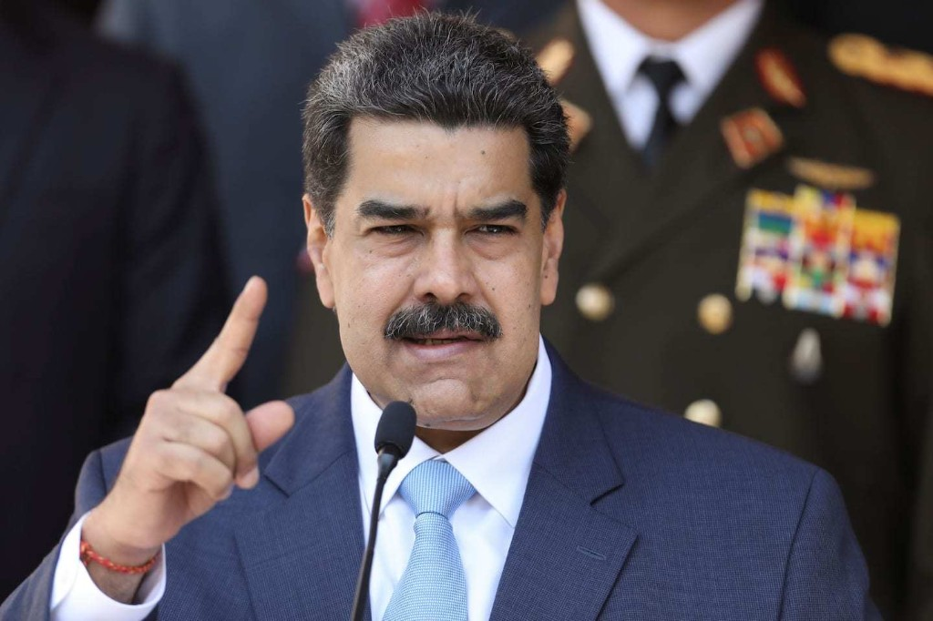 U.S. indicts Venezuela's Maduro on narcoterrorism charges, offers $15 million reward for his capture