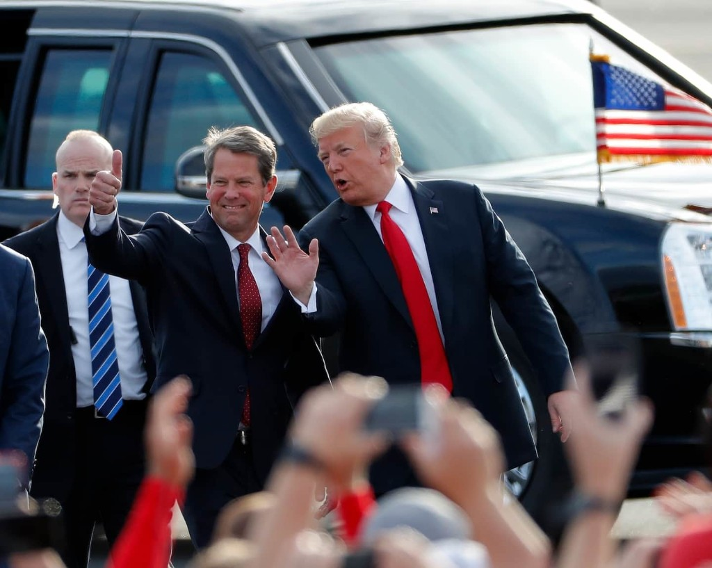 Trump's feud with Brian Kemp says it all about the legitimacy of his voter fraud claims