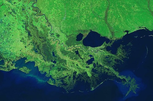 Seas are rising too fast to save much of the Mississippi River Delta, scientists say