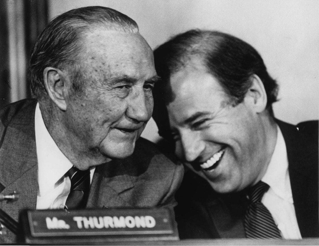 Why is Strom Thurmond's name still on congressional offices?