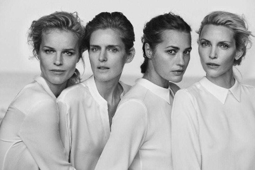 Armani returns to his roots, dressing the women that the rest of fashion ignores