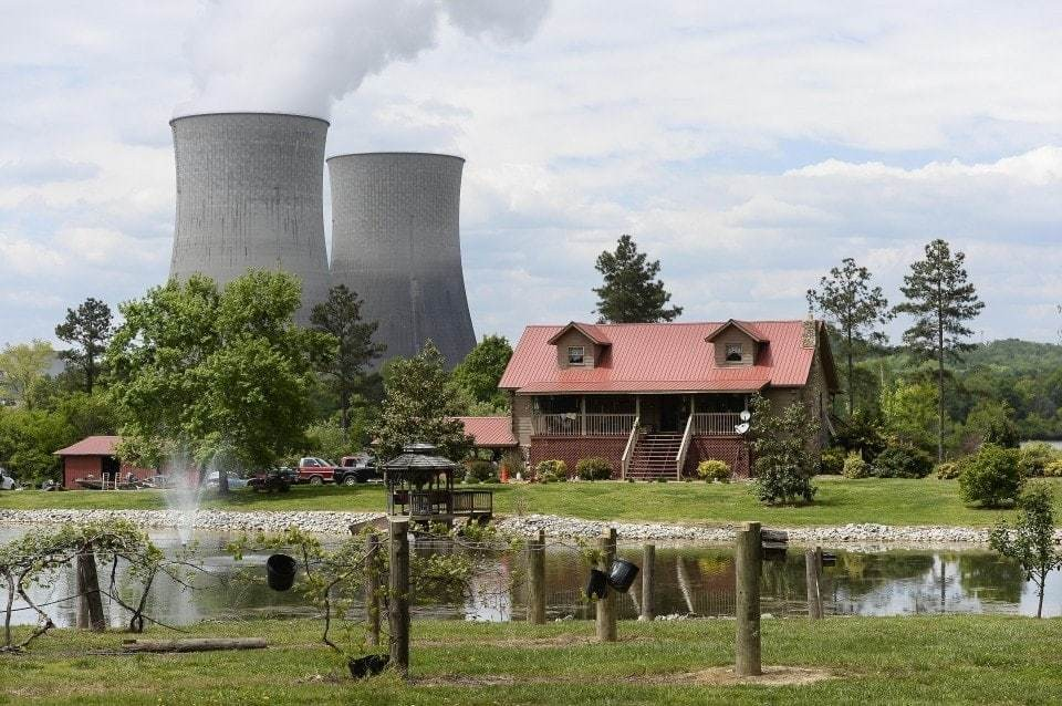 It's the first new U.S. nuclear reactor in decades. And climate change has made that a very big deal.