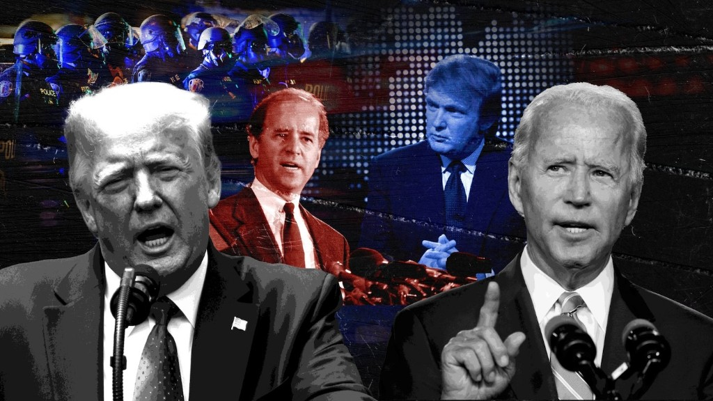 What to watch for when Trump and Biden get questions on 'race and violence in our cities'