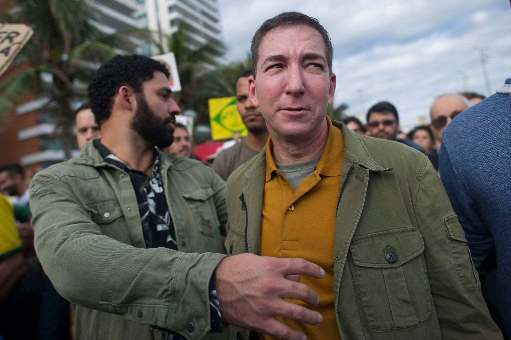 Glenn Greenwald resigns from the Intercept following dispute over Biden story