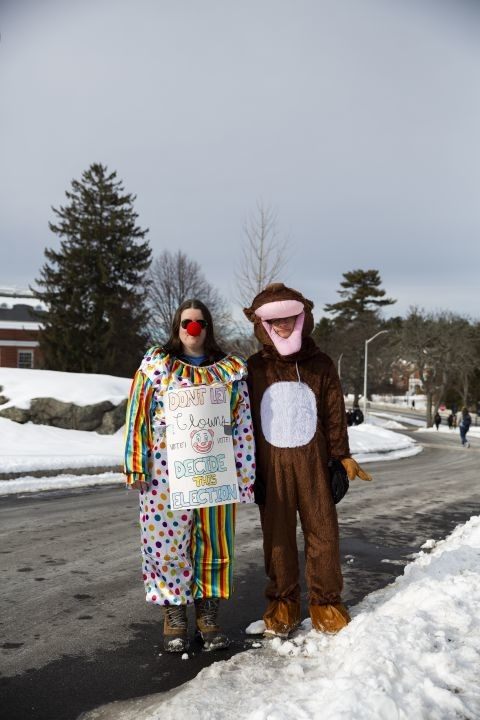 The bird-dogger: The beautiful art of hassling politicians while wearing animal costumes - The Washington Post