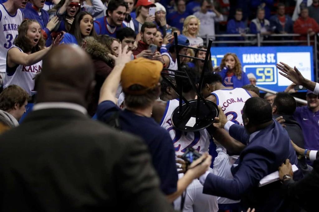 Bill Self called Kansas basketball fight an 'embarrassment.' So that's what it took.