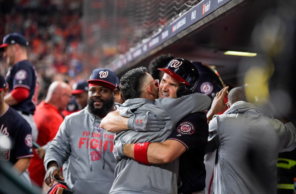 Nationals fans, welcome to the World Series. Here's hoping you make it to the end.