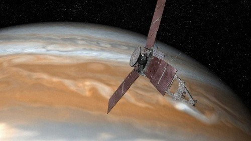 Juno spacecraft slips into safe mode, putting science on hold