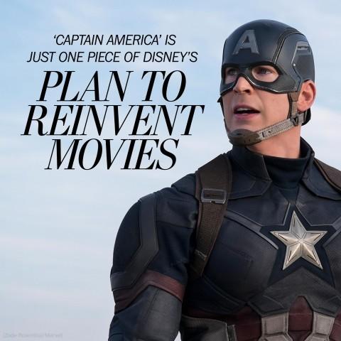 Marvel - Magazine cover