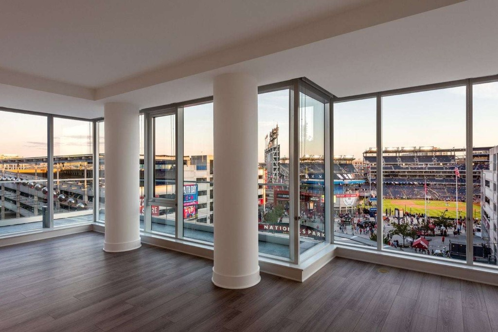 New Southeast D.C. apartments offer view of center field
