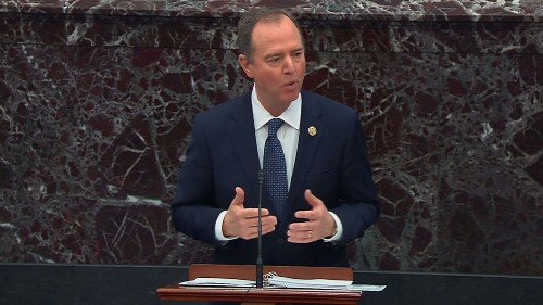 Schiff's compelling rebuttal to a spurious White House claim
