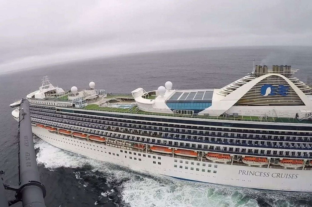21 people test positive for coronavirus on California cruise ship, out of 46 tested so far