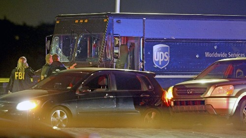 Four died in a shootout with police after a UPS truck was hijacked. Could it have been avoided?