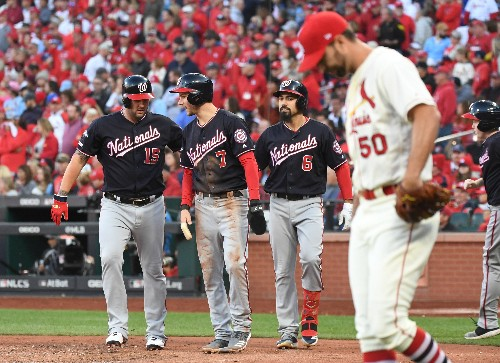 The Nationals' unforgettable season is about to reach another level