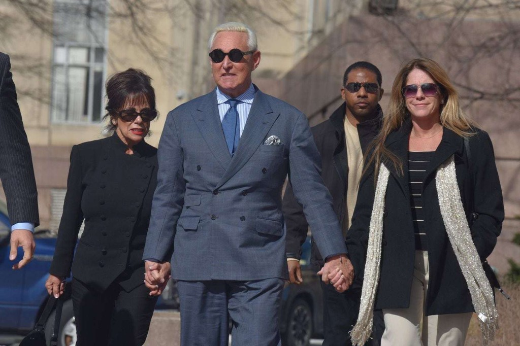 Roger Stone asks for new trial in sealed motion, one day after Trump accused jury forewoman of bias