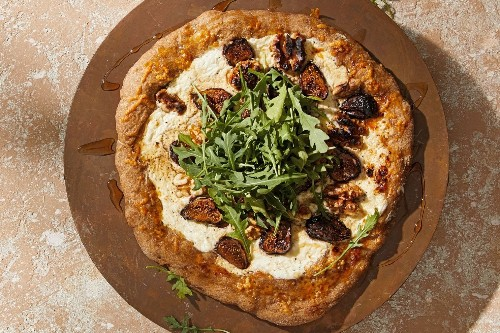 Whipped Ricotta Pizza With Figs and Walnuts - The Washington Post