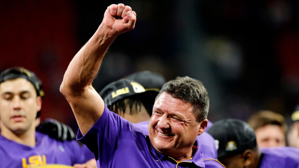 You can learn a lot about Ed Orgeron just from the sound of his voice