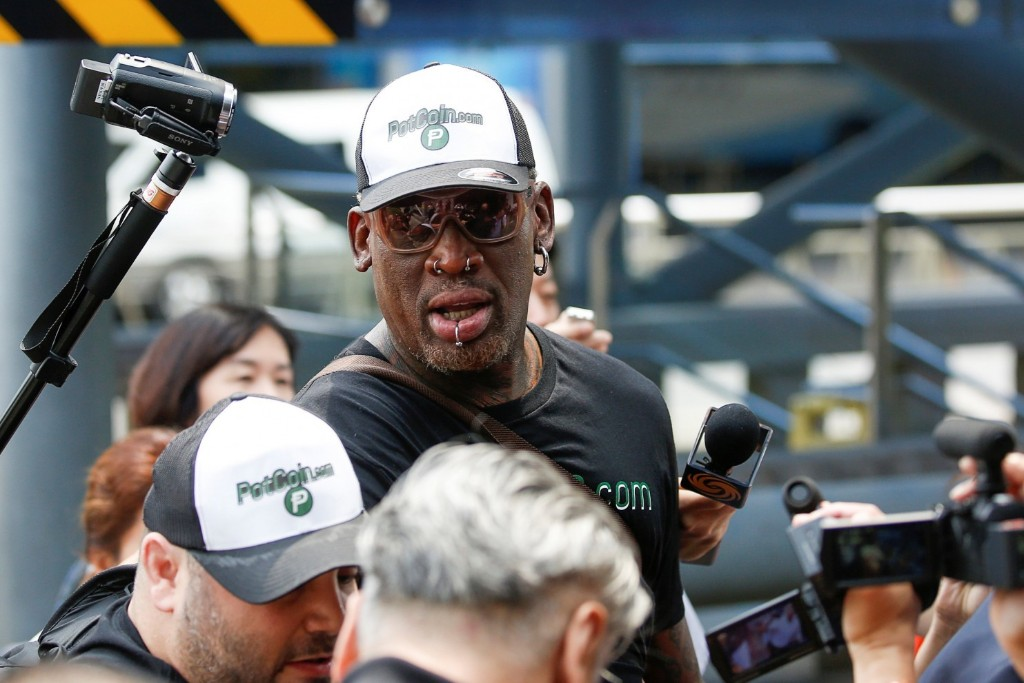 Dennis Rodman returns from North Korea. And, amazingly, nothing happened.