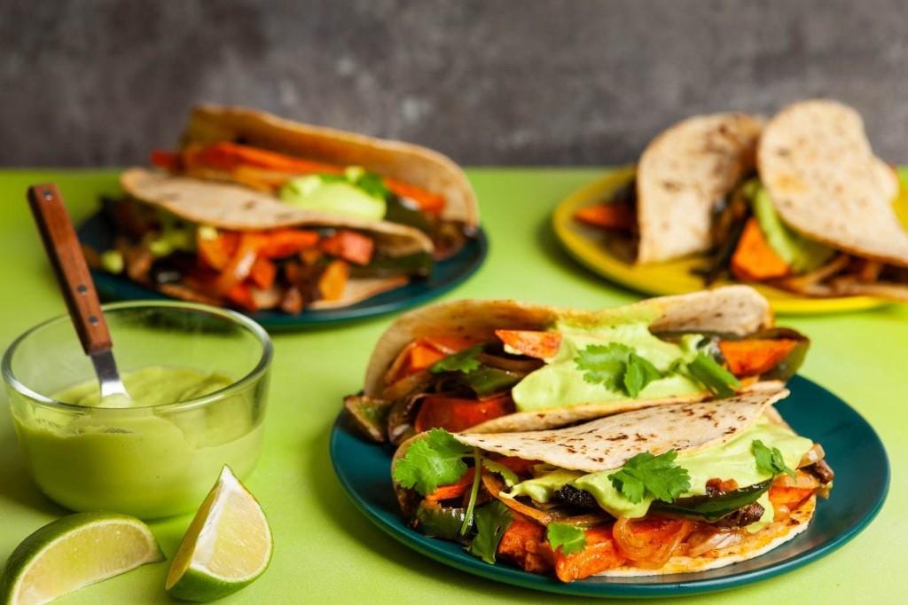 Poblano, Sweet Potato and Mushroom Fajitas - The Washington Post