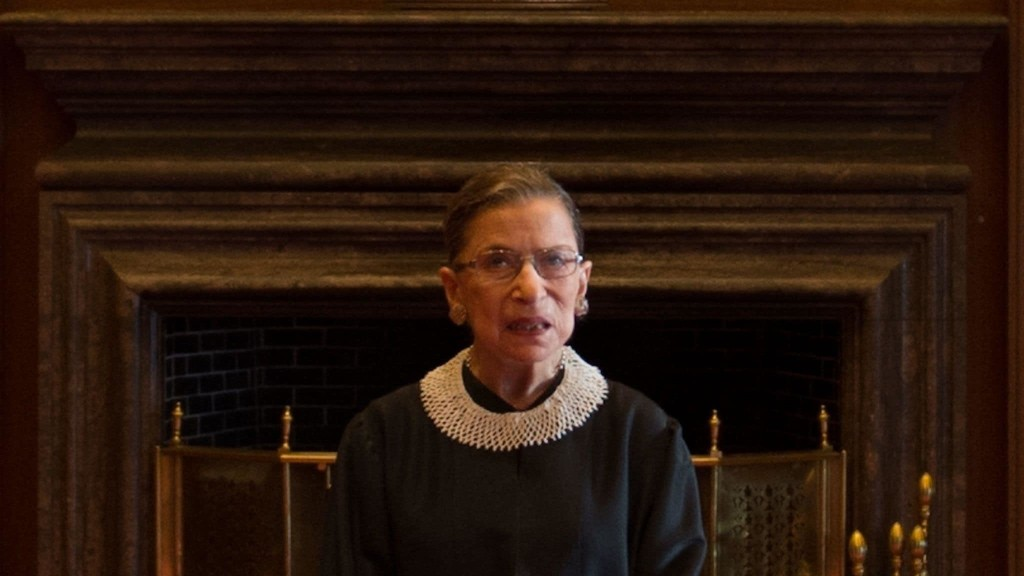 Trump's petty slight of Ruth Bader Ginsburg