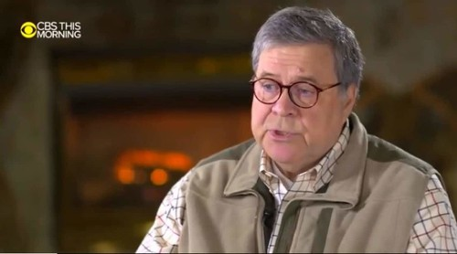 What was William Barr's fleece vest trying to tell us?