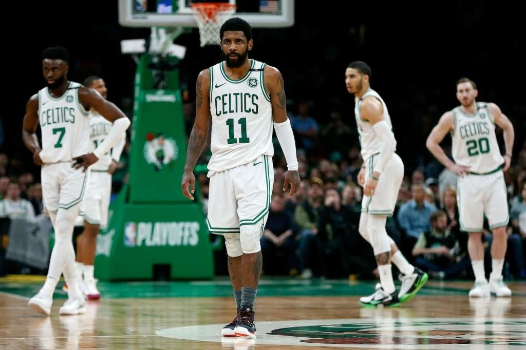 The Kyrie Irving era in Boston may soon end, and some Celtics fans are just fine with that